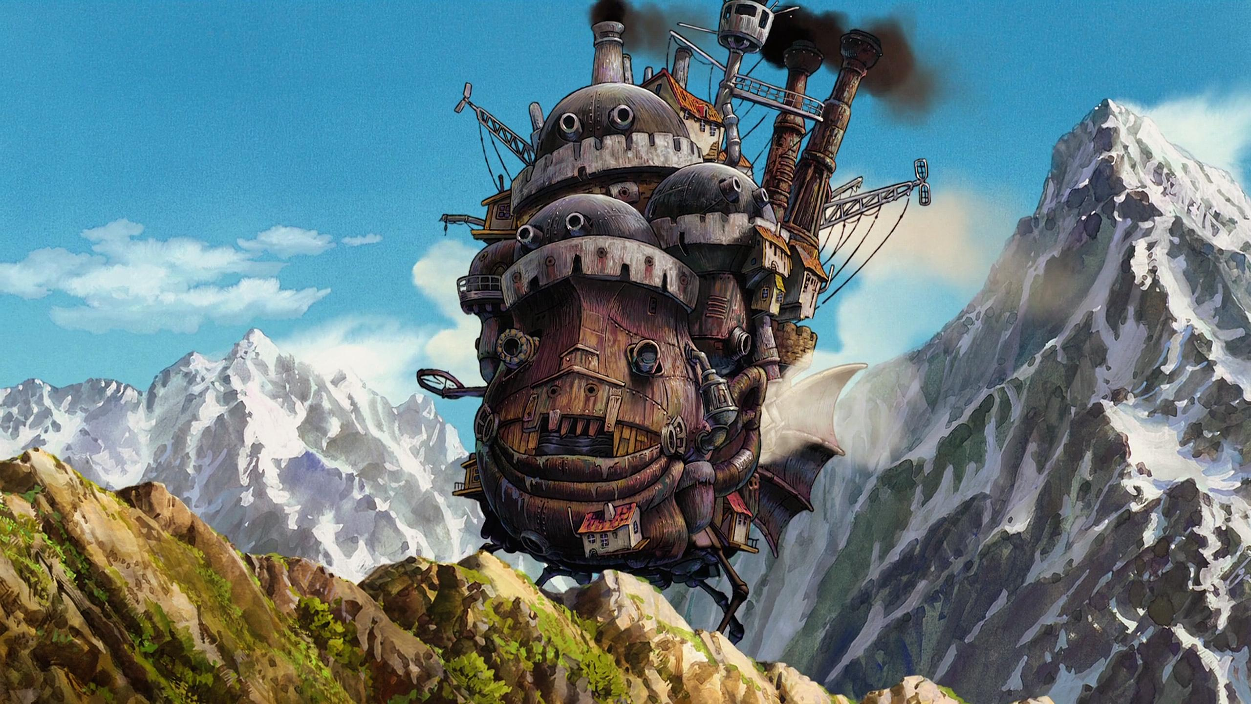 Howls moving castle wallpaper