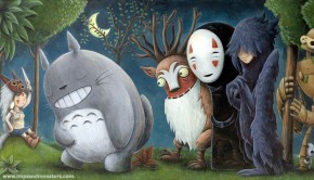 Studio ghibli meets where the wild things are