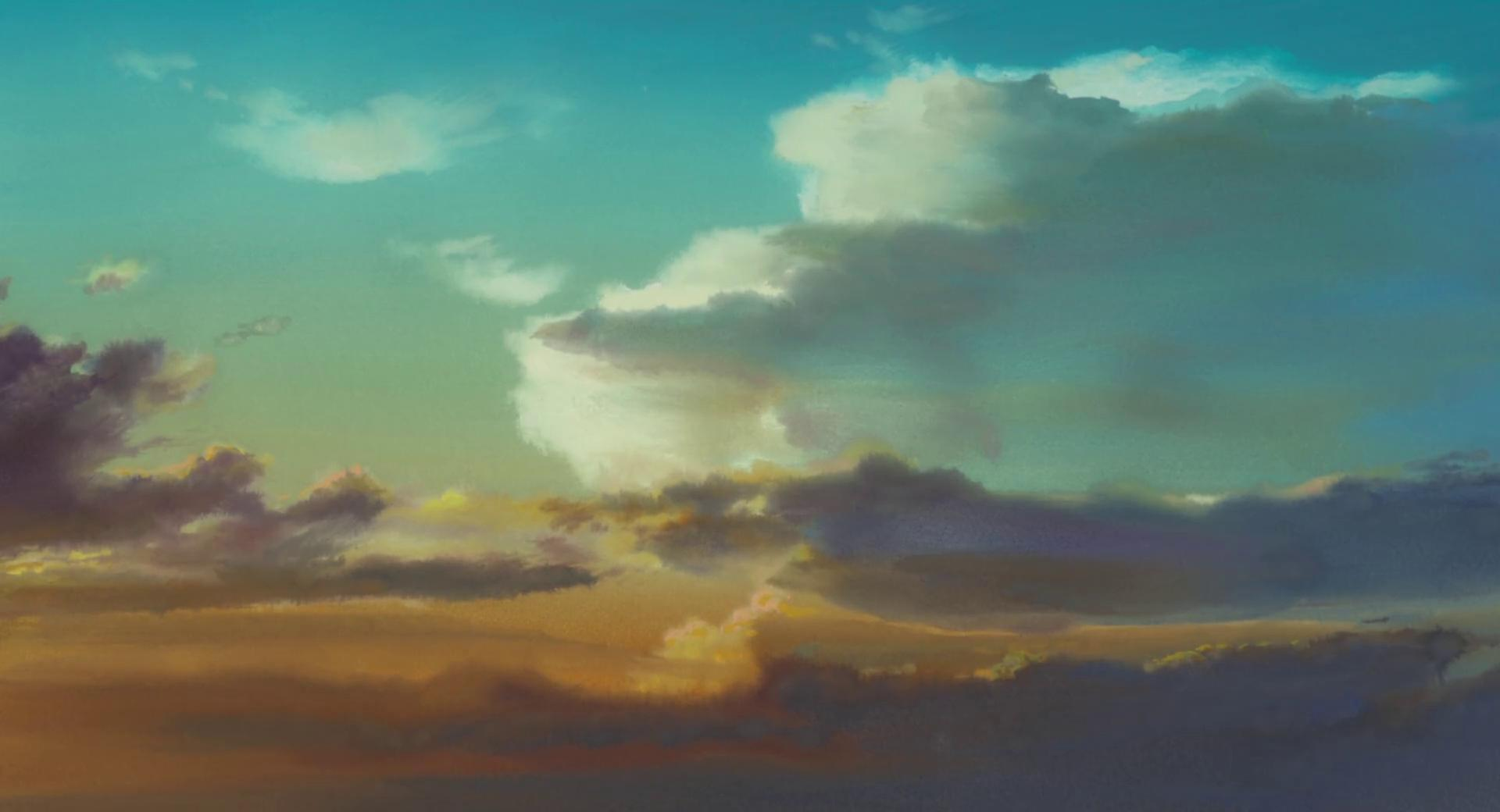 The wind rises background desktop wallpaper