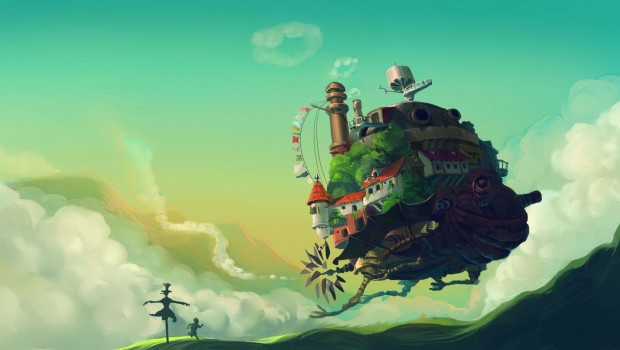 Hd Ghibli Wallpaper 1080: Howls Moving Castle HD Wallpaper