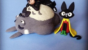 1 - Alfred-Totoro Robin-Jiji and Batman