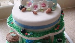 My Neighbor Totoro birthday cake