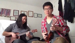 howls moving castle ukelele cover
