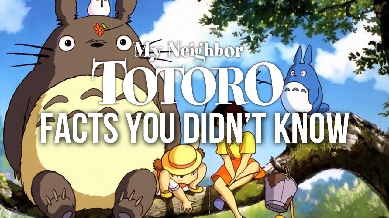 my neighbour totoro film history essay My neighbor totoro (となりのトトロ, tonari no totoro) is a japanese animated fantasy film written and directed by hayao miyazaki and produced by studio ghibli.