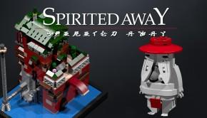 Lego Ideas - Spirited Away Yubaba's Bathhouse