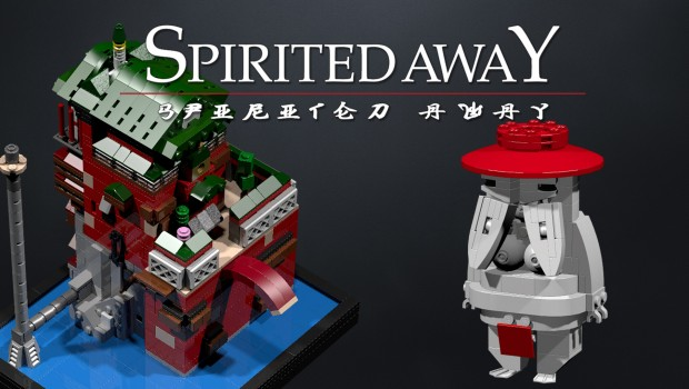 Lego Ideas - Spirited Away Yubaba's Bathhouse