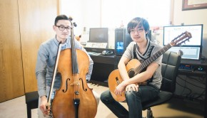"""Studio Ghibli"" Medley (Cello & Classical Guitar) - Nicholas Yee & Shawn Gan"