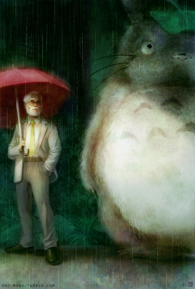 Awesome Collection Of My Neighbor Totoro Fan Art And