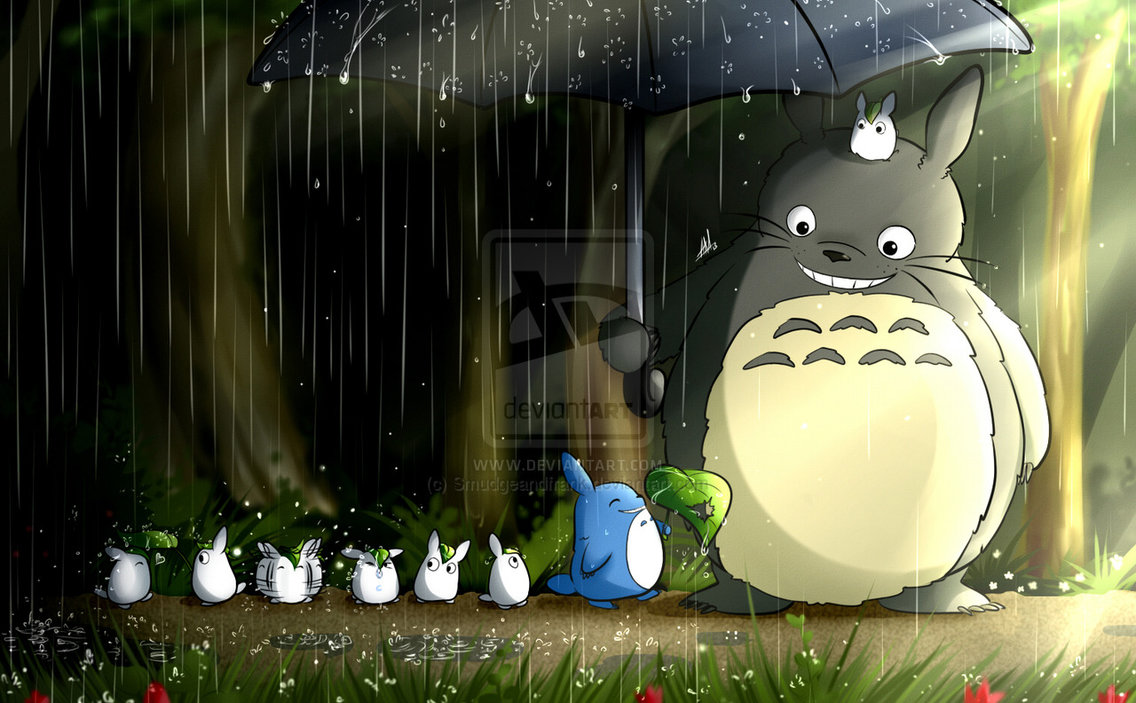 totoro_s_stroll_in_the_rain_by_smudgeandfrank-d623blp