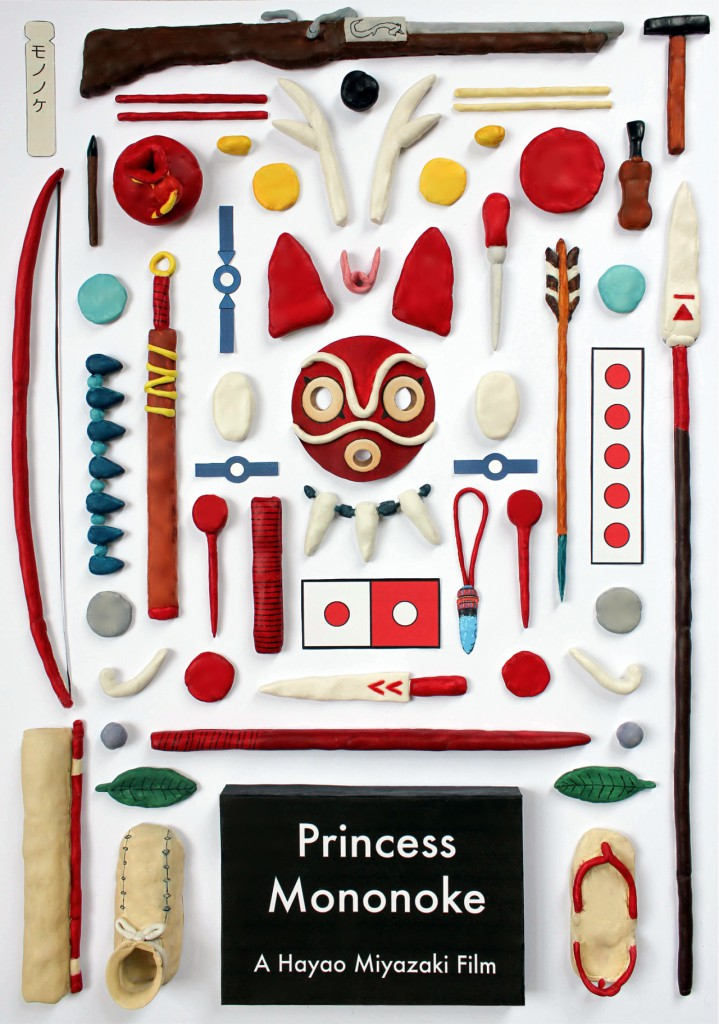 Hayao Miyazaki-Princess Mononoke Important Items