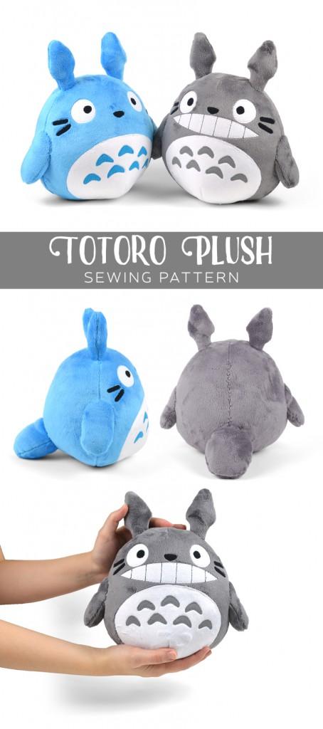 totoro plushie small