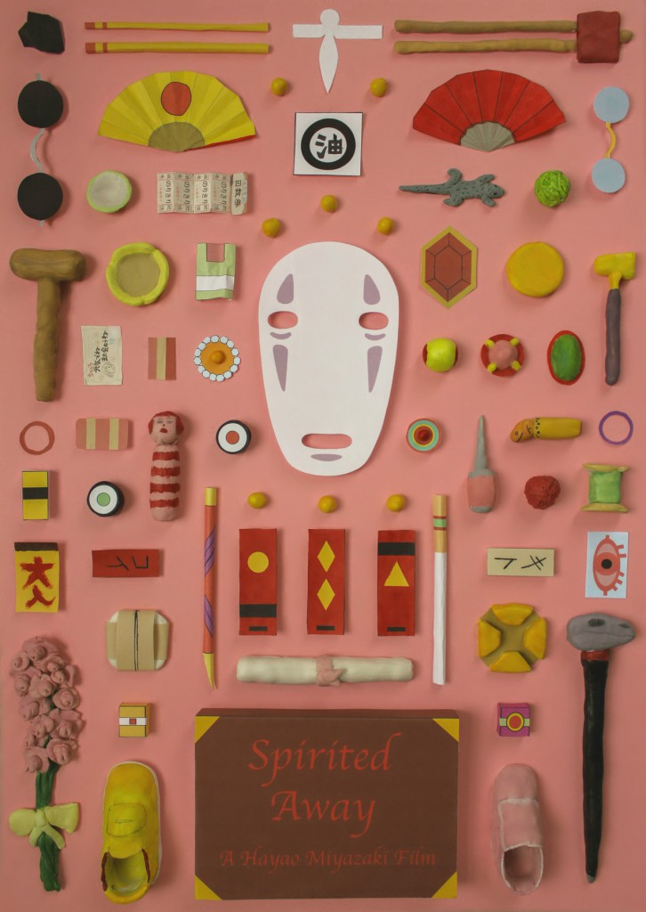 Hayao Miyazaki-Spirited Away Important Items