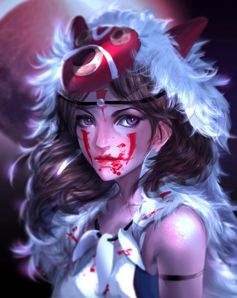 Princess Mononoke by Yujin Jung