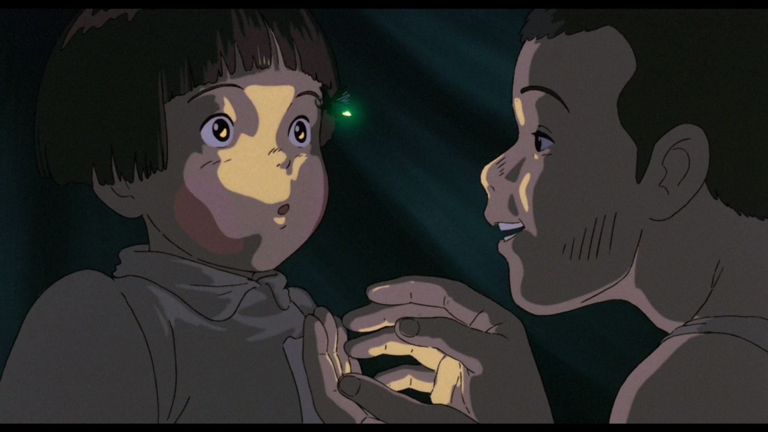 grave of the fireflies review The two children set up housekeeping in a cave by a stream, but their meager resources are quickly exhausted, and seita is reduced to stealing to feed his sister \nthe strength of grave of the fireflies lies in takahata's evenhanded portrayal of the characters.