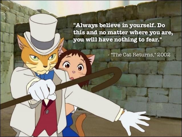 The cat returns quote