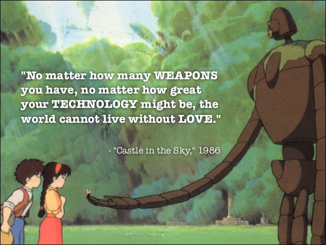 Castle in the sky quote