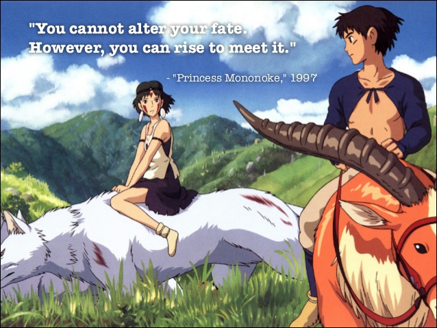 Princess mononoke quote