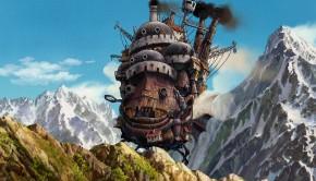 howls moving castle desktop wallpaper background