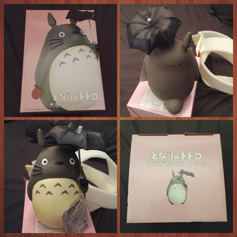 totoro money box and coin bank
