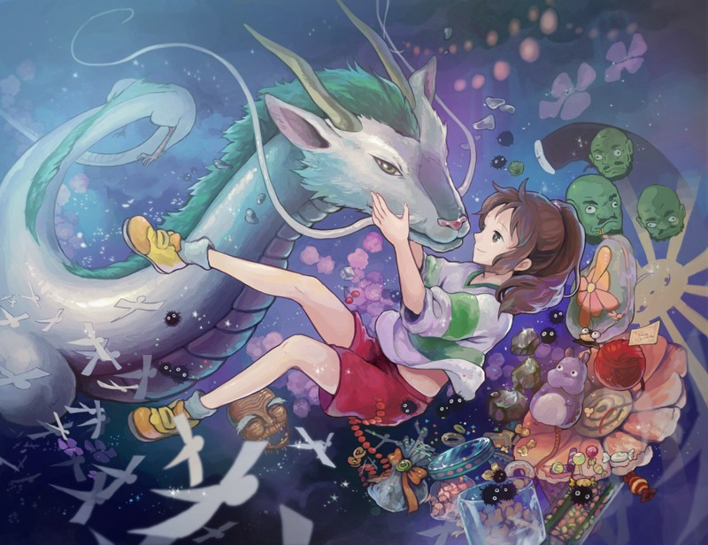 Spirited Away fan art