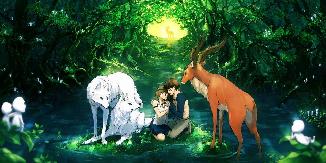 Wenqing-Yan-yuumei-becaus-we-love-princess-mononoke-sai-studio-ghibli