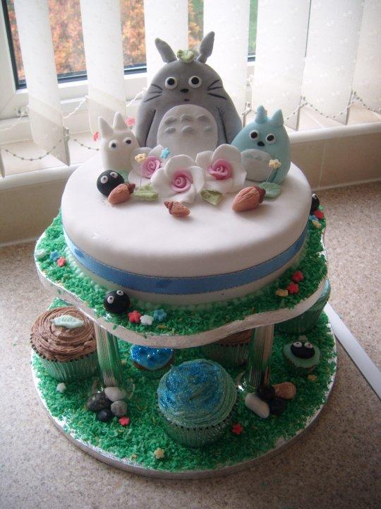 My Neighbor Totoro birthday cake