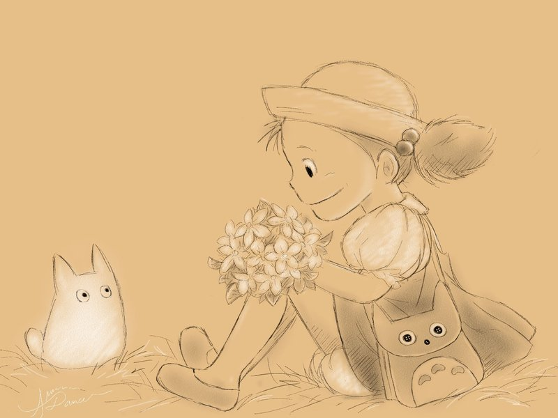 Mei_with_Small_Totoro_by_aruarian_dancer