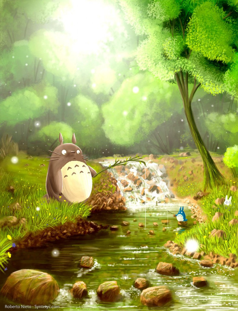 a_moment_in_the_life_of_totoro_by_syntetyc-d3edocf
