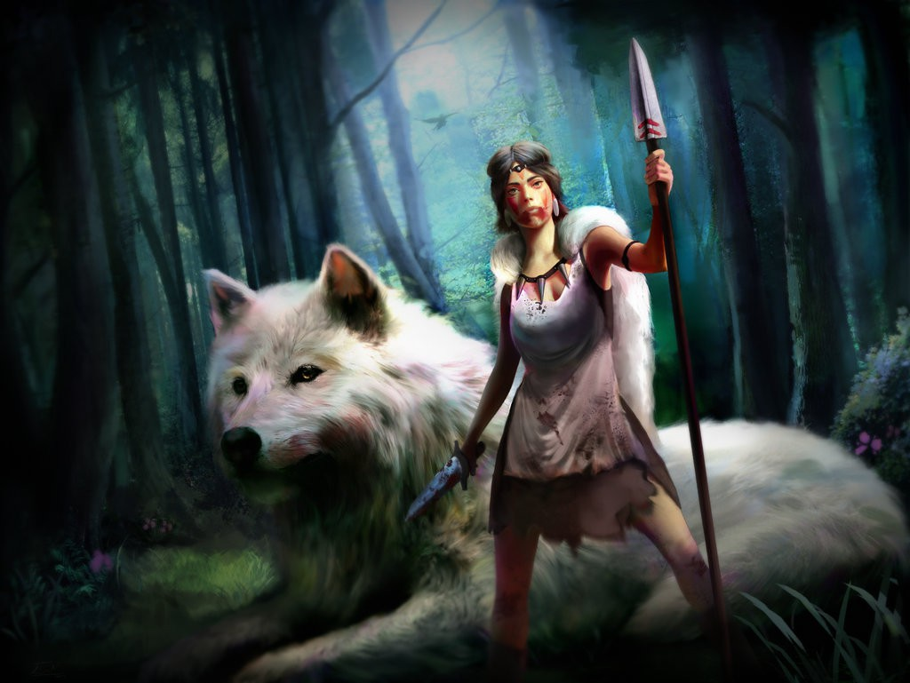 Princess Mononoke by gogo1409