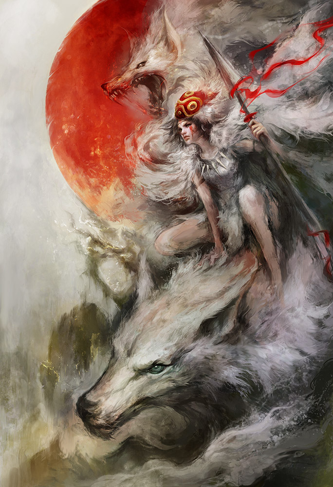 Princess Mononoke by Mojo