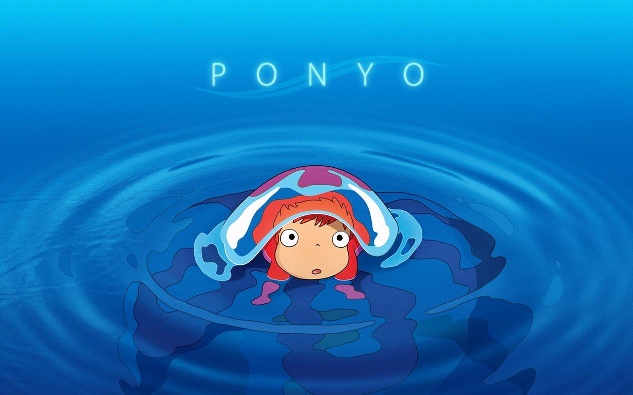 Ponyo Wallpaper Hd